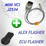 Alex Flasher + адаптер Mini Vci для чип тюнинга
