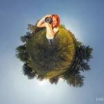 """Фотография в стиле """"Маленькая планета"""""""