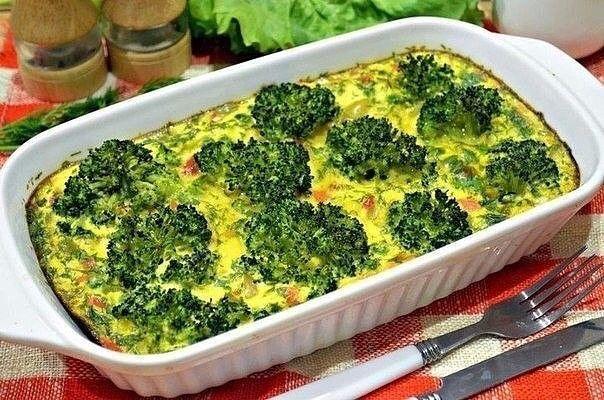 Идея для ужина: запеканка из овощей
