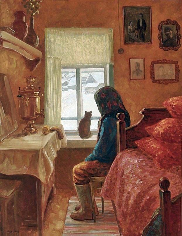 Баба Маня надумала помирать. Была пятница, обеденное время, похлебав пшённого ку...