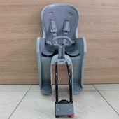 Кресло детское велосипедное назад TILLY Серый цвет