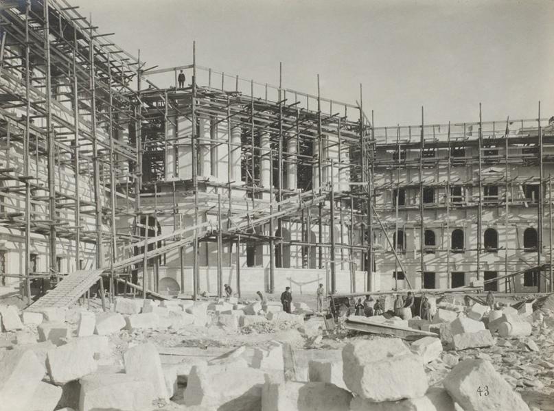 Голландия. Строительство Морского кадетского корпуса,  1916 г. Севастополь