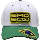 Бейсболка Bad Boy Jiu Jitsu White