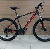 """Велосипед COM GT 910 Алюминий, Disc (2021) 27,5"""" Чёрный/Красный"""