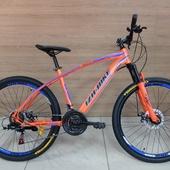 "Велосипед Иж-Байк GRAND (2021) 26"" Оранжев/Синий"