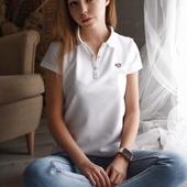 Поло ЛСП «white» женское