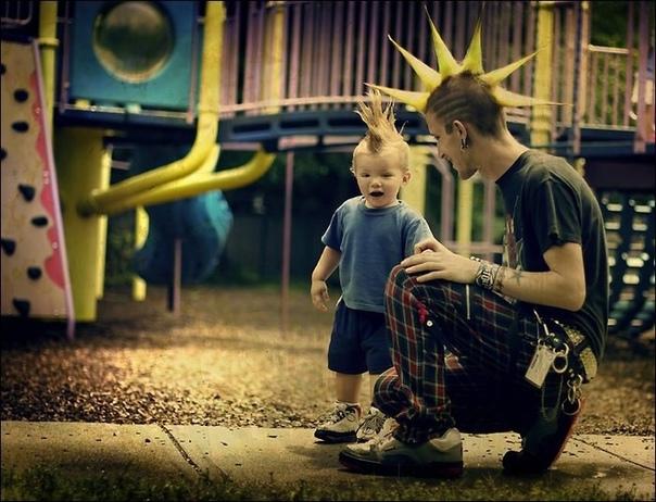 Я с чистой совестью могу сказать, что хотел бы воспитать сына как воспитали меня...