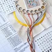 «Символы», комплект наклеек для организации вышивального процесса