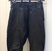 (0189)Мотоштаны кожаные женские, размер 42(XS)