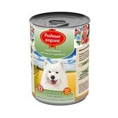 РОДНЫЕ КОРМА консервы для собак скоблянка мясная по-городецки 970г