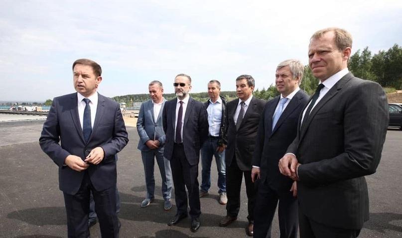 Столичным сенаторам показали развязку Президентского моста