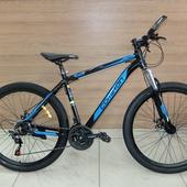 """Велосипед COM GT 910 Алюминий, Disc (2021) 27,5"""" Чёрный/Синий"""