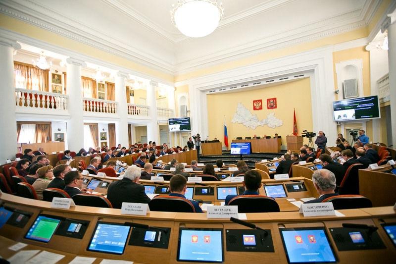 Стало известно количество мандатов у партий в Заксобрании Оренбуржья