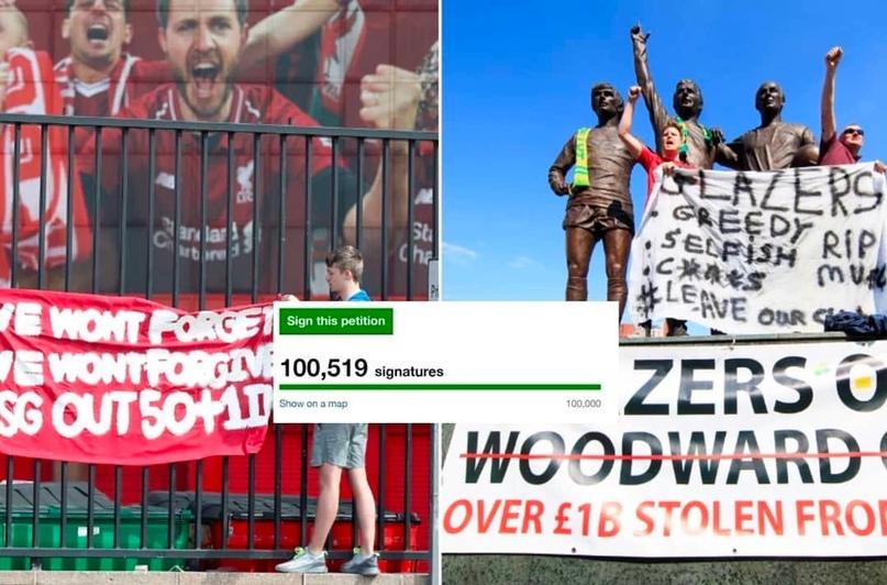 В Великобритании петиция за внедрение правила «50+1» при владении футбольным клу...