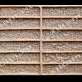 Кирпич МОДЕРН - Thin Brick K107 big (12 ПЛИТОК В ФОРМЕ) форма полиуретановая