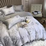 Комплект постельного белья с одеялом, тенсель