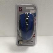 Мышь Defender Accura MM-665 синий Беспроводная оптическая мышь, 6 кнопок, 800-1600 dpi