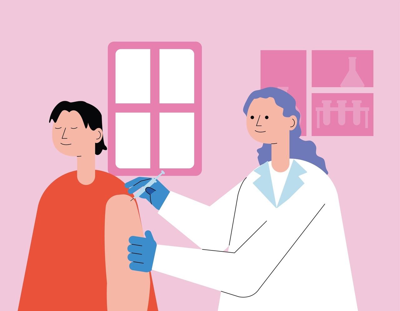 Как помочь себе во время вакцинации?💫