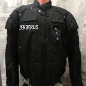 (О1046)Мотокуртка текстиль Zerberus, размер 2ХL