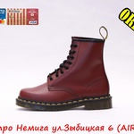 DR.MARTENS SMOOTH 1460 CHERRY RED