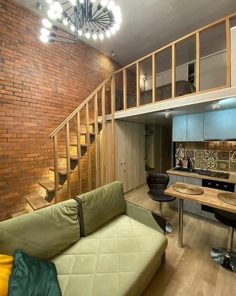 Дизайн двухэтажной квартиры без каких-либо наворотов