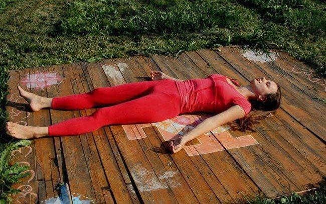 Йога для спокойного сна.