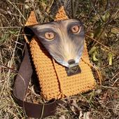 В НАЛИЧИЕ! Рюкзачек «Лисичка». Авторская модель