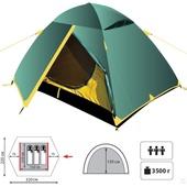 Палатка трехместная Fire Mark Light Step 3