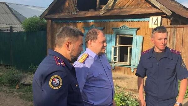 В Бугуруслане по подозрению в жестоком убийстве женщины с детьми задержали мужчину