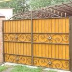 Металлические кованые ворота в Тюмени