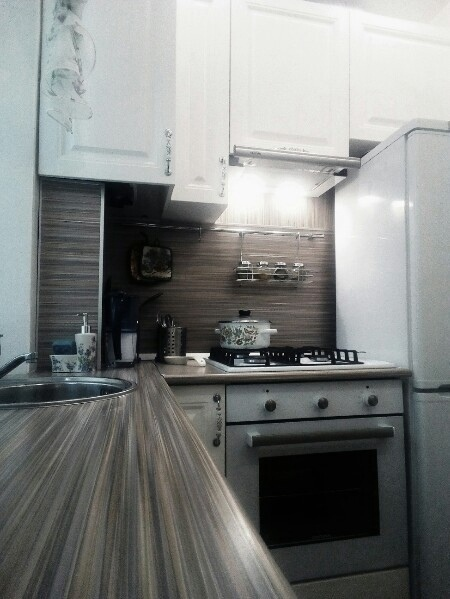 Крайне комфортная и практичная кухня
