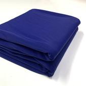 №119 уценённый отрез дл.4,18м. матового бифлекса темно-синего цвета
