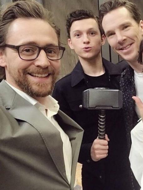 Британская троица Marvel ????
