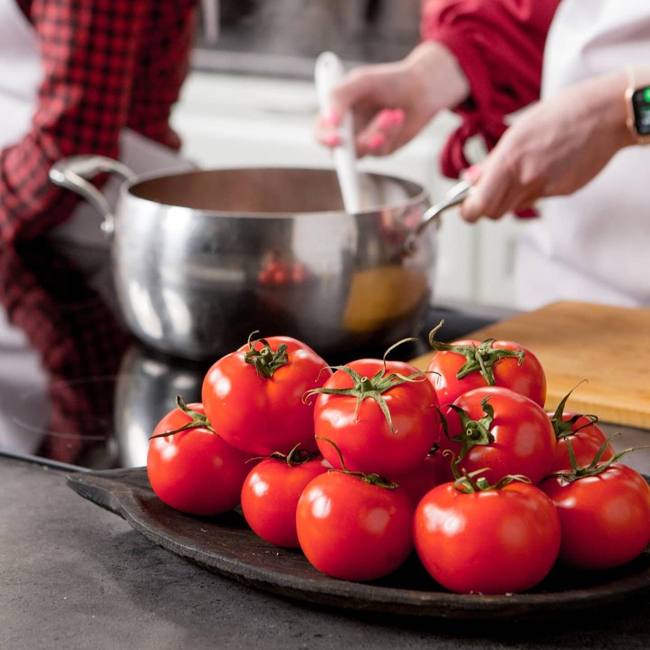 Турецкая мусака с баклажанами и помидорами