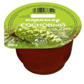 Мармелад Сосновый 220 гр. пластиковая баночка