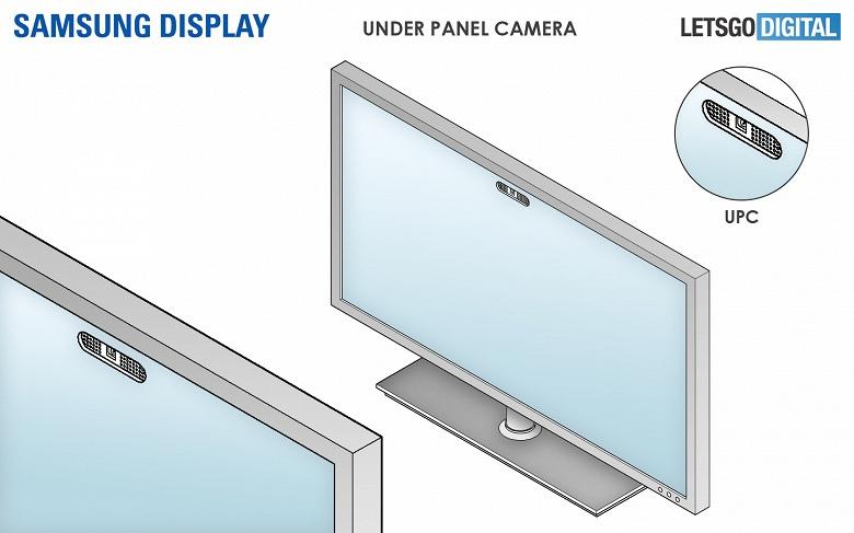 Samsung Under Panel Camera будет использоваться в смартфонах, ноутбуках и телевизорах компании