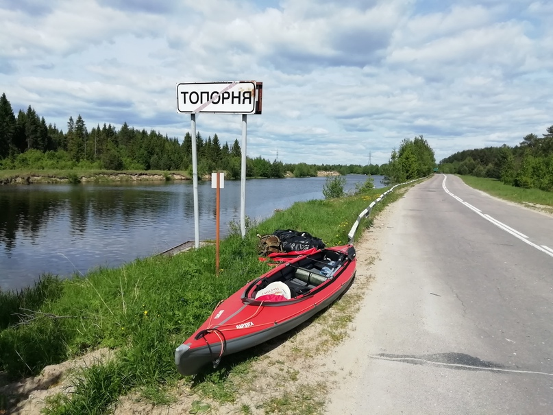 Из Шексны в озеро Кубенское, или как мы прокатились на веслах по Северо-Двинском...