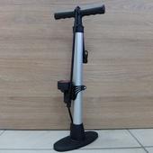 Насос стационарный ручной с манометром 8атм (Сталь)