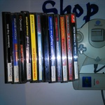 12 дисков + контроллер + карта памяти / Sega Dreamcast