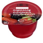 Мармелад Ежевика с клубникой 220 гр. пластиковая баночка