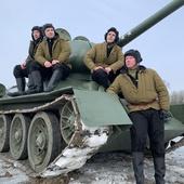 Катание на танке Т-34-85