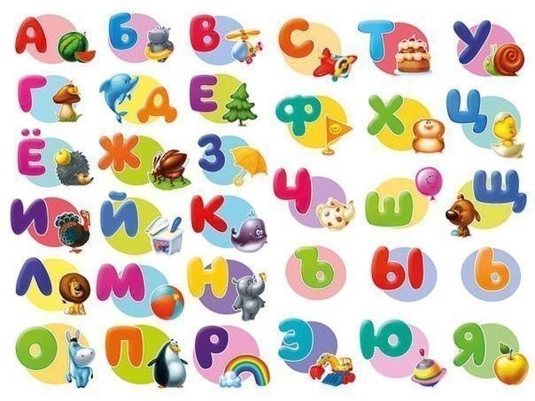 Я на память знаю буквы.