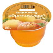 Мармелад Абрикосовый 220 гр. пластиковая баночка
