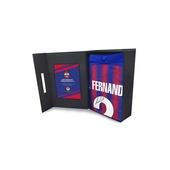 Футболка игровая домашняя EL 2020/2021 с автографом ФЕРНАНДЕСА в подарочной