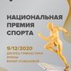 Национальная спортивная премия 2020