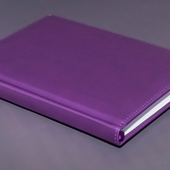 Ежедневник недатированный A5 фиолетовый