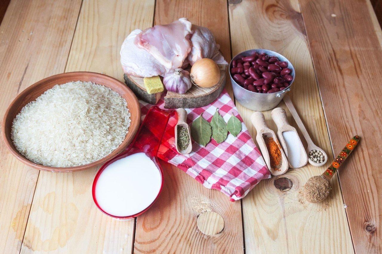 Рис с курицей по-мексикански