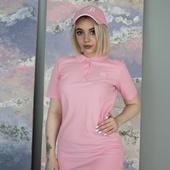 Платье-поло «ЛСП Pink»