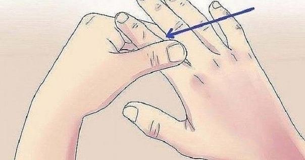 Нажмите эту точку на пальце на 60 секунд... Что происходит после этого — удивительно!