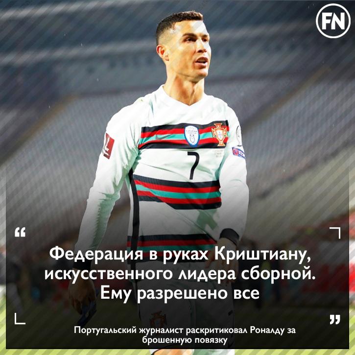 💬Журналист: «Мы знаем, что Роналду очень важен для португальского футбола, для н...